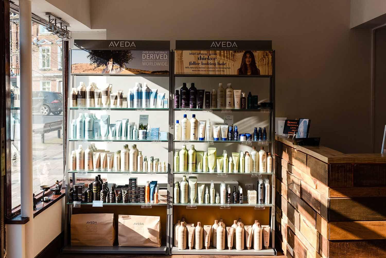 Chakra Newbury - Aveda products
